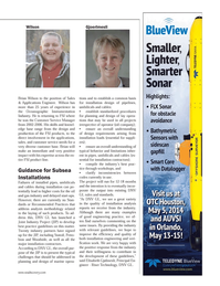 Marine Technology Magazine, page 47,  Apr 2014 installation contractors