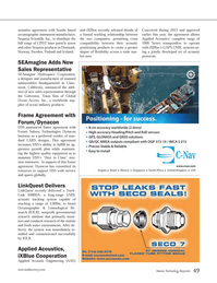 Marine Technology Magazine, page 49,  Apr 2014 Texas
