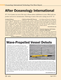 Marine Technology Magazine, page 50,  Apr 2014