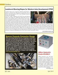 Marine Technology Magazine, page 58,  Apr 2014
