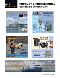 Marine Technology Magazine, page 61,  Apr 2014 control systems