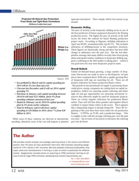 Marine Technology Magazine, page 12,  May 2014 oil spot prices
