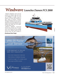 Marine Technology Magazine, page 13,  May 2014 crew transfer services