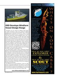 Marine Technology Magazine, page 15,  May 2014