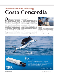 Marine Technology Magazine, page 17,  May 2014 transportation