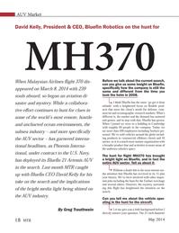 Marine Technology Magazine, page 18,  May 2014