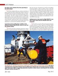 Marine Technology Magazine, page 20,  May 2014