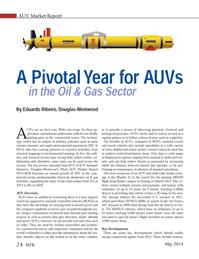 Marine Technology Magazine, page 24,  May 2014