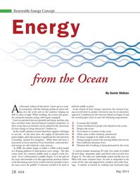 Marine Technology Magazine, page 28,  May 2014