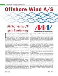 Marine Technology Magazine, page 34,  May 2014