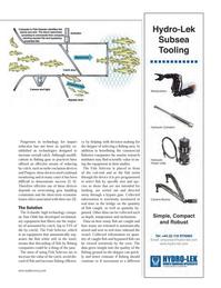 Marine Technology Magazine, page 37,  May 2014
