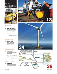 Marine Technology Magazine, page 2,  May 2014