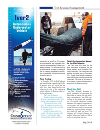 Marine Technology Magazine, page 38,  May 2014 Iceland