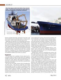 Marine Technology Magazine, page 42,  May 2014 Washington Photo