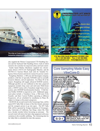 Marine Technology Magazine, page 43,  May 2014 Scripps Institution of Oceanography