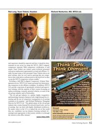 Marine Technology Magazine, page 45,  May 2014