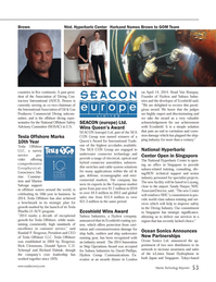 Marine Technology Magazine, page 53,  May 2014 Rick Clemmons