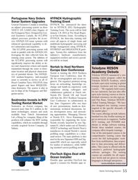 Marine Technology Magazine, page 55,  May 2014 Northern Europe