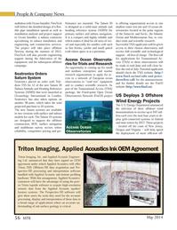 Marine Technology Magazine, page 56,  May 2014 Oregon