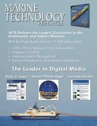 Marine Technology Magazine, page 62,  May 2014