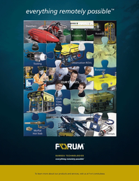 Marine Technology Magazine, page 4th Cover,  May 2014