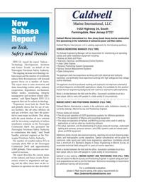 Marine Technology Magazine, page 15,  Jun 2014 Ocean Engineering