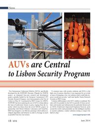 Marine Technology Magazine, page 18,  Jun 2014 Luke Speller