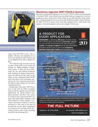 Marine Technology Magazine, page 21,  Jun 2014 intervention applications