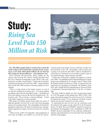 Marine Technology Magazine, page 22,  Jun 2014
