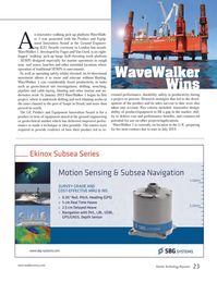 Marine Technology Magazine, page 23,  Jun 2014