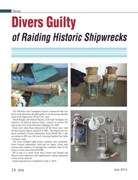 Marine Technology Magazine, page 24,  Jun 2014