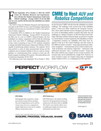 Marine Technology Magazine, page 25,  Jun 2014 NATO Center for Maritime Research and Experimenta