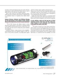 Marine Technology Magazine, page 27,  Jun 2014 SBG Systems