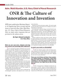 Marine Technology Magazine, page 30,  Jun 2014 Edward Lundquist