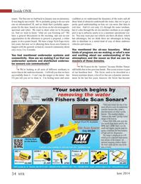 Marine Technology Magazine, page 34,  Jun 2014 underwater systems