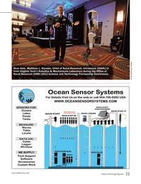 Marine Technology Magazine, page 35,  Jun 2014 Virginia Tech