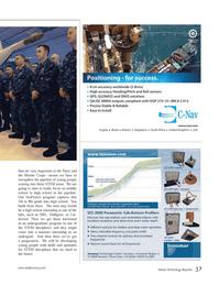 Marine Technology Magazine, page 37,  Jun 2014 Navy