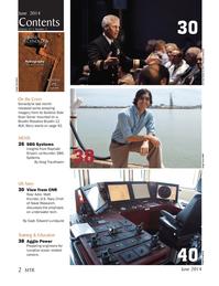 Marine Technology Magazine, page 2,  Jun 2014 Greg Trauthwein