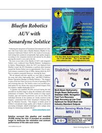 Marine Technology Magazine, page 43,  Jun 2014 inbuilt technologies
