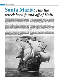 Marine Technology Magazine, page 44,  Jun 2014 Haitian government