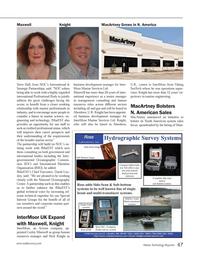 Marine Technology Magazine, page 47,  Jun 2014 United Kingdom