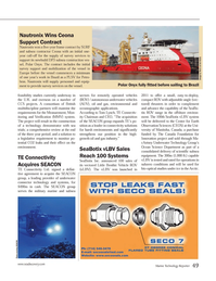 Marine Technology Magazine, page 49,  Jun 2014 Tom Lynch