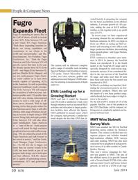 Marine Technology Magazine, page 50,  Jun 2014 Jeansonne