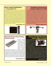 Marine Technology Magazine, page 57,  Jun 2014 digital imaging