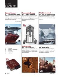 Marine Technology Magazine, page 4,  Jun 2014 FORCE of Nature