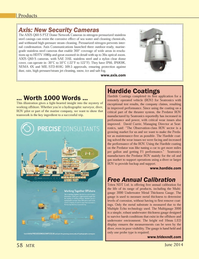Marine Technology Magazine, page 58,  Jun 2014 HDTV