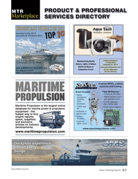Marine Technology Magazine, page 61,  Jun 2014 control systems