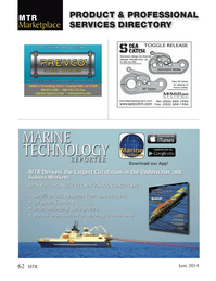 Marine Technology Magazine, page 62,  Jun 2014