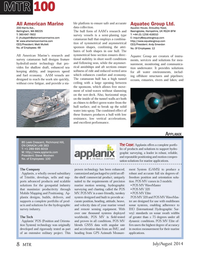 Marine Technology Magazine, page 8,  Jul 2014