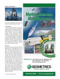 Marine Technology Magazine, page 13,  Jul 2014